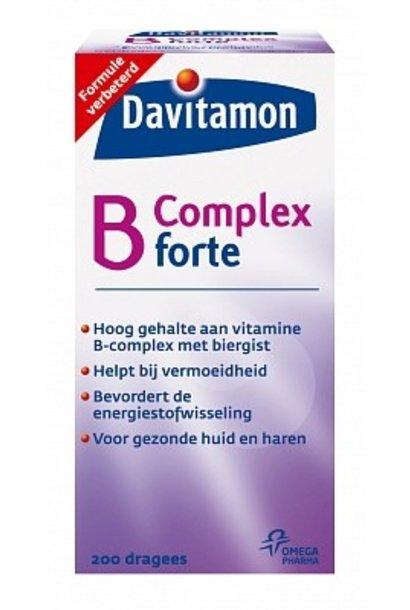 Vitamine B Complex Forte Dragees 200 stuks