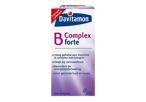 Davitamon Vitamine B Complex Forte Dragees 200 stuks