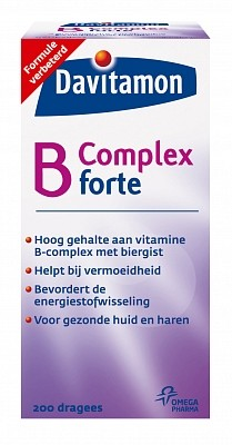 Davitamon Vitamine B Complex Forte Dragees 200 stuks-1