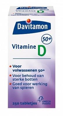 Davitamon Vitamine D 50+ Tabletten 250 tabletten-1