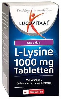 Lucovitaal L-Lysine 60 stuks-1
