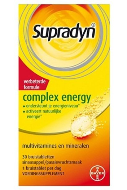 Complex Energy Bruistabletten 30 stuks