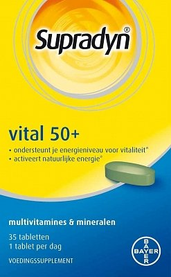 Supradyn Vital 50+ 35 tabletten-1