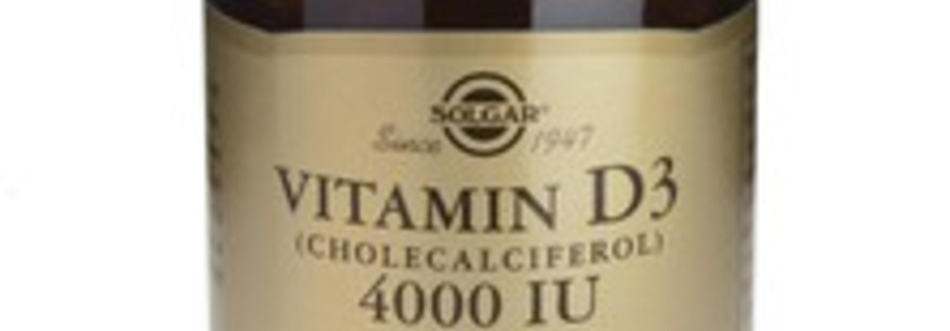 Vitamine D ondersteuning weer belangrijk in de winter.