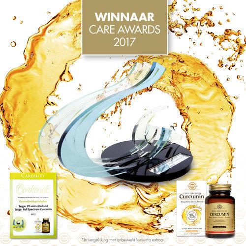 Solgar Full Spectrum Curcumin wint Care Award 2017