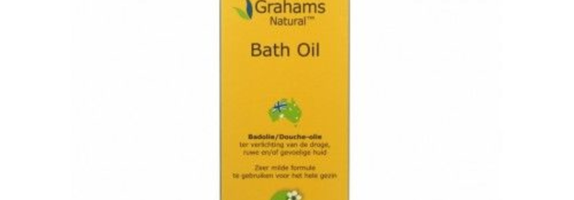 Grahams bad olie 120 ml
