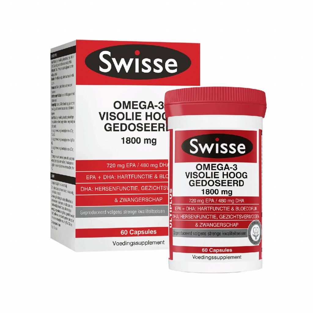 Multiplus omega-3 Visolie Hooggedoseerd 60 tabletten-1