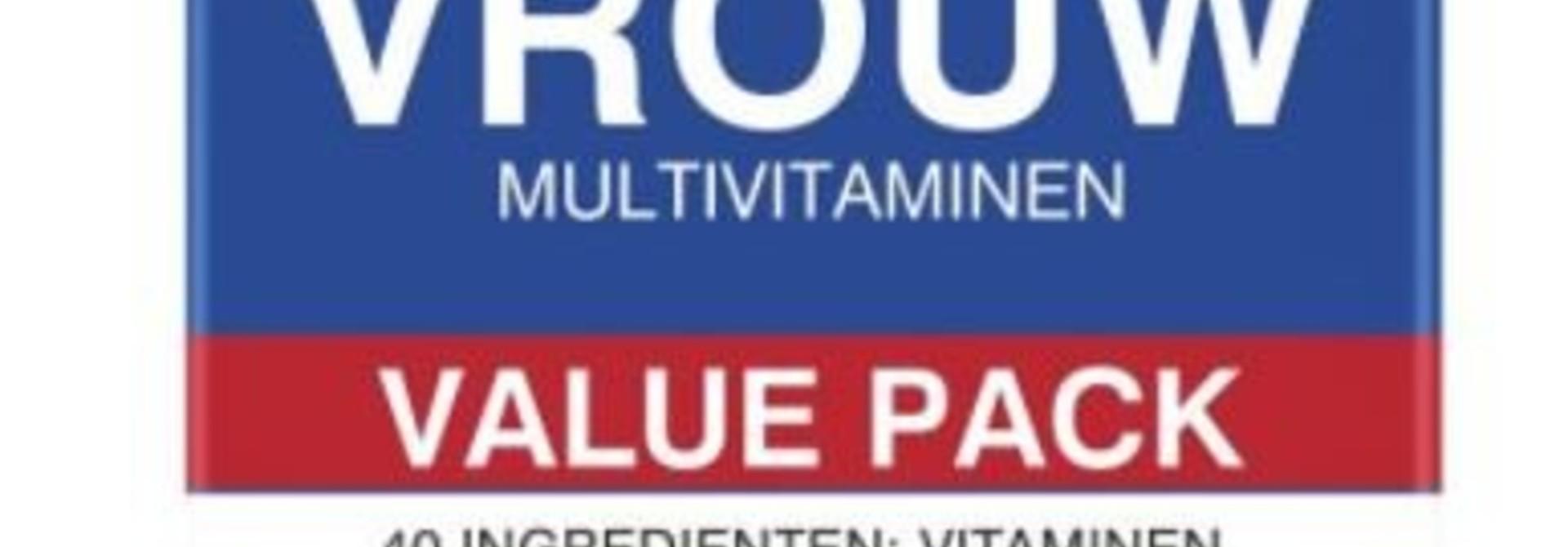 Multivitaminen Vrouw 60 tabletten