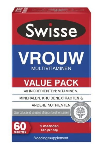 Multivitaminen Vrouw 60 tabletten