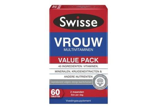 Swisse Multivitaminen Vrouw 60 tabletten
