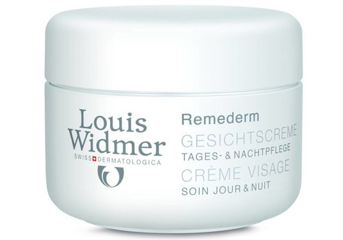 Louis Widmer Remederm Gezichtscrème 50 ml ongeparfumeerd