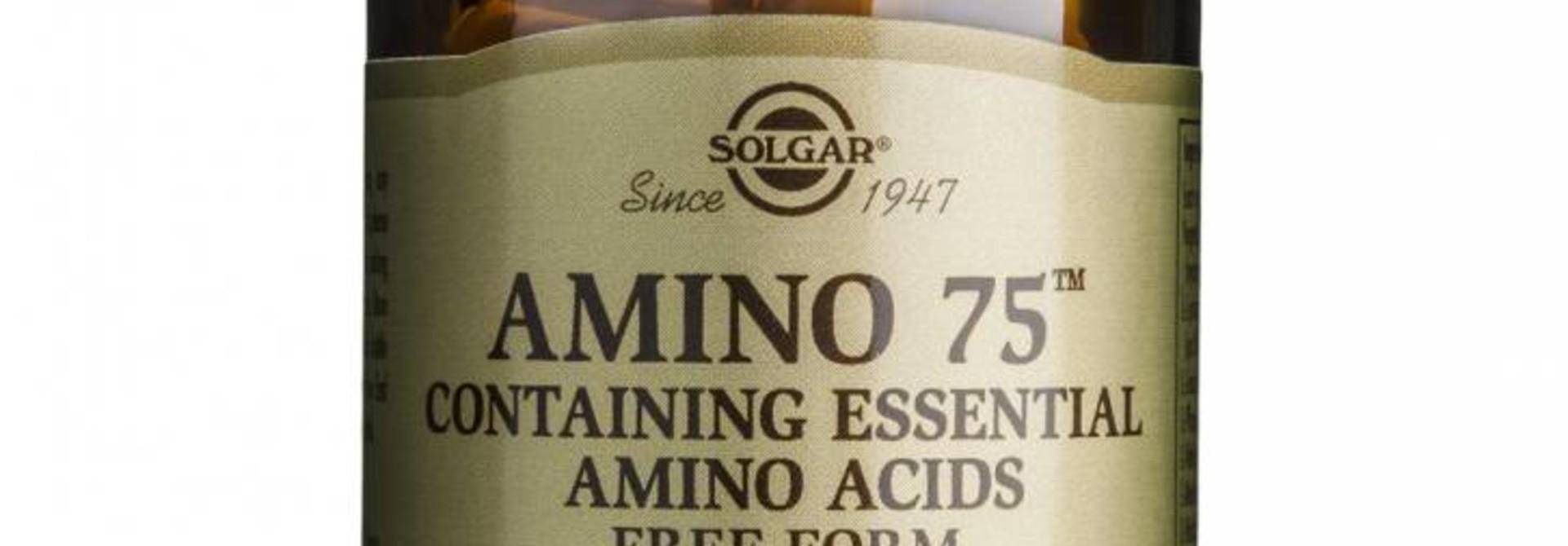 Amino 75™ 30 plantaardige capsules