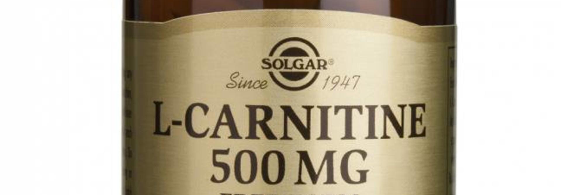 L-Carnitine 500 mg 60 tabletten