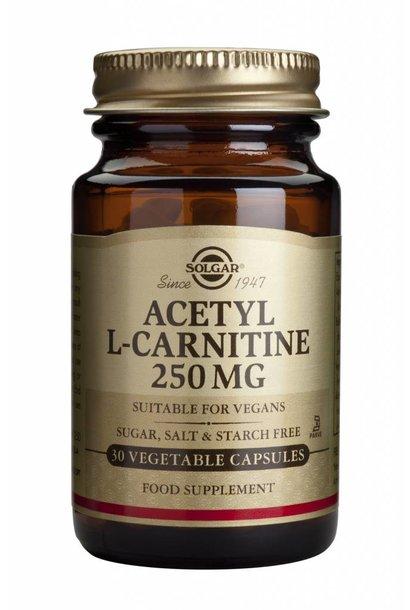 Acetyl-L-Carnitine 250 mg 30 plantaardige capsules