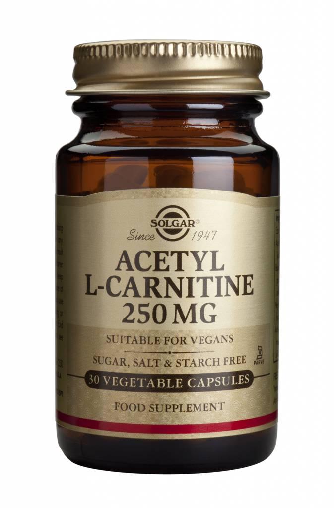 Acetyl-L-Carnitine 250 mg 30 plantaardige capsules-1
