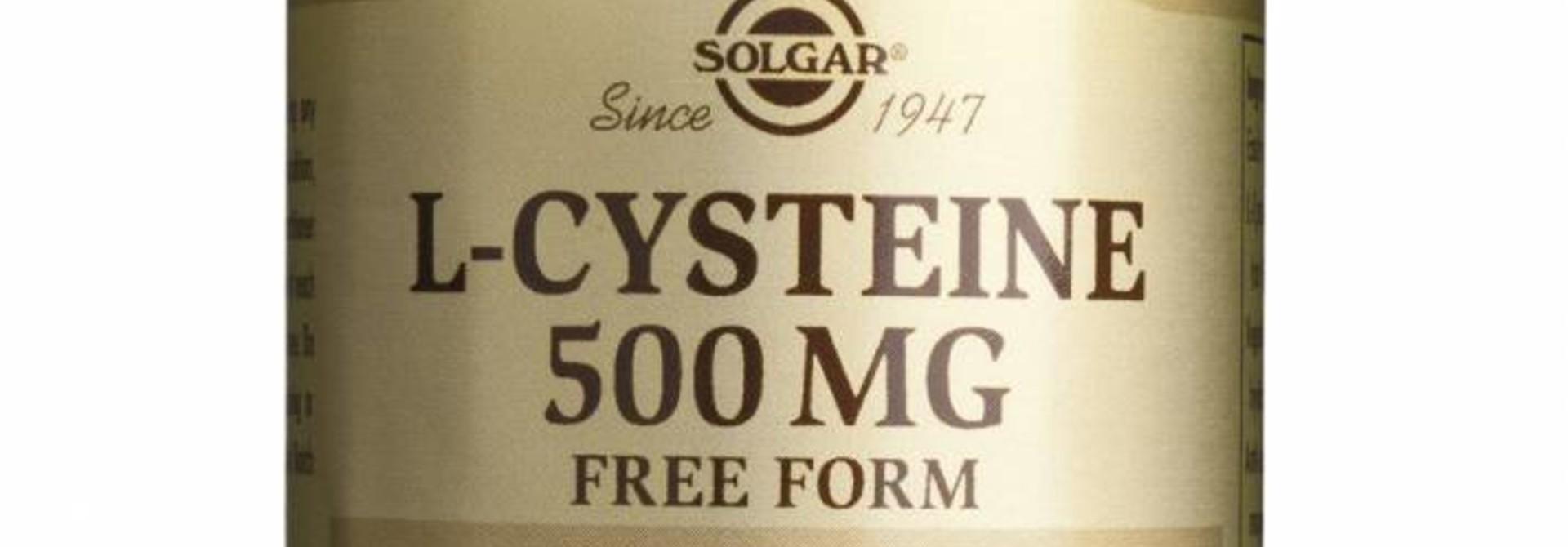 L-Cysteine 500 mg 30 plantaardige capsules