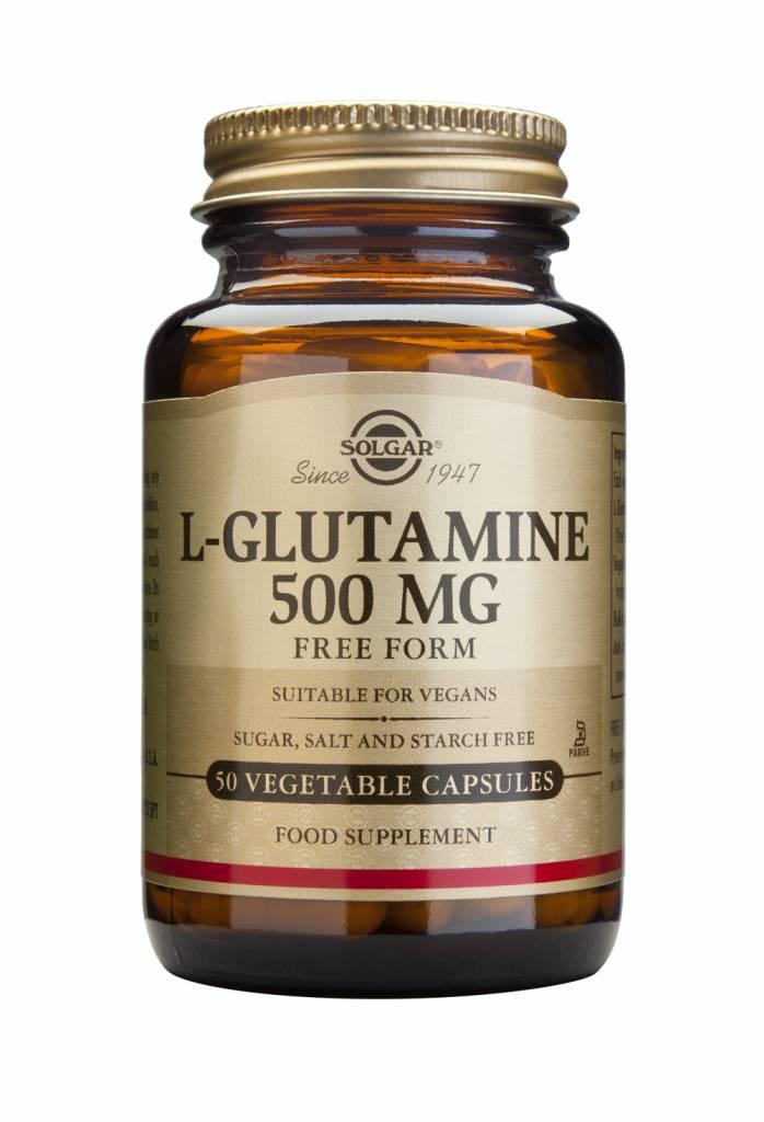 L-Glutamine 500 mg 50 plantaardige capsules-1
