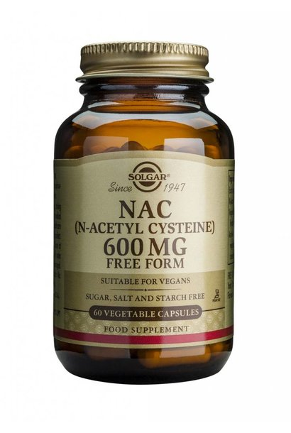 NAC 600 mg 60 plantaardige capsules