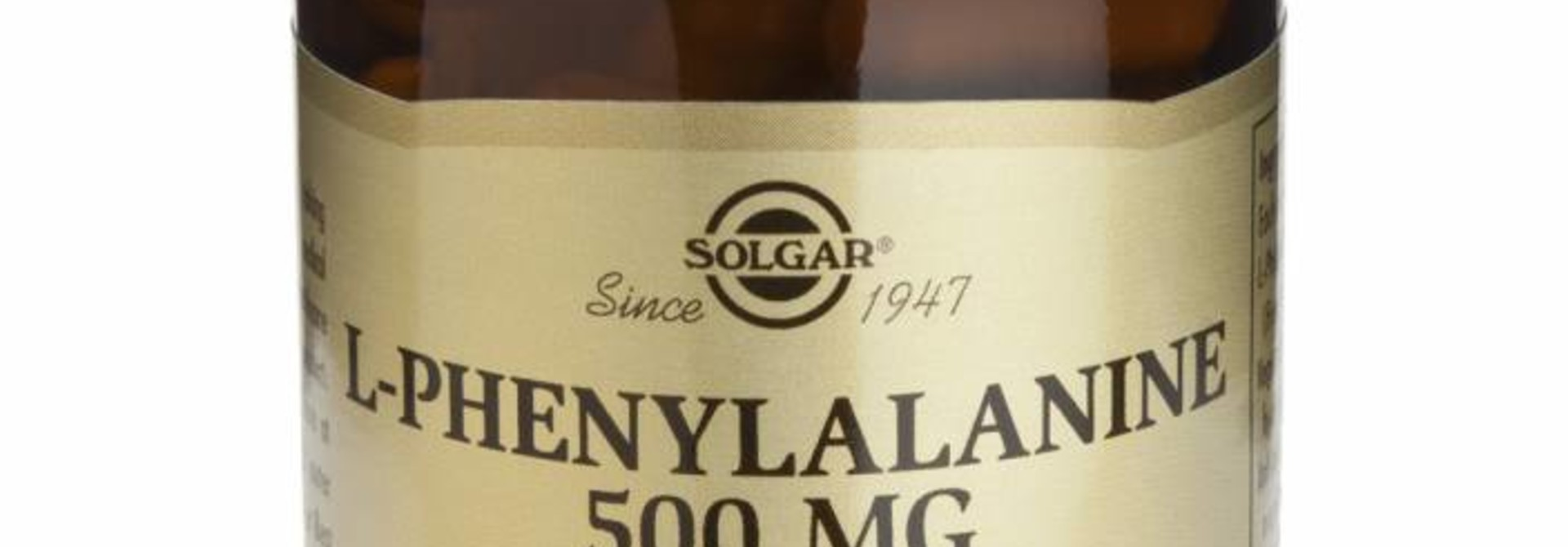 L-Phenylalanine 500 mg 50 plantaardige capsules