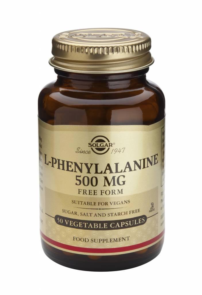 L-Phenylalanine 500 mg 50 plantaardige capsules-1