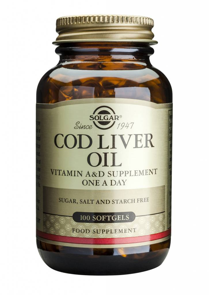 Cod Liver Oil 100 softgels-1