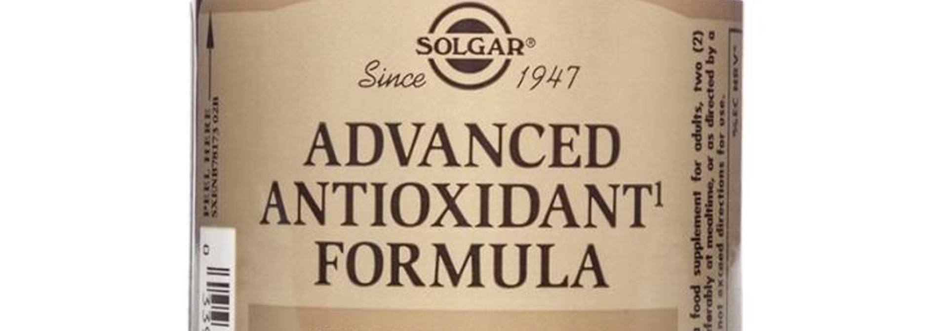 Advanced Antioxidant Formula 60 plantaardige capsules