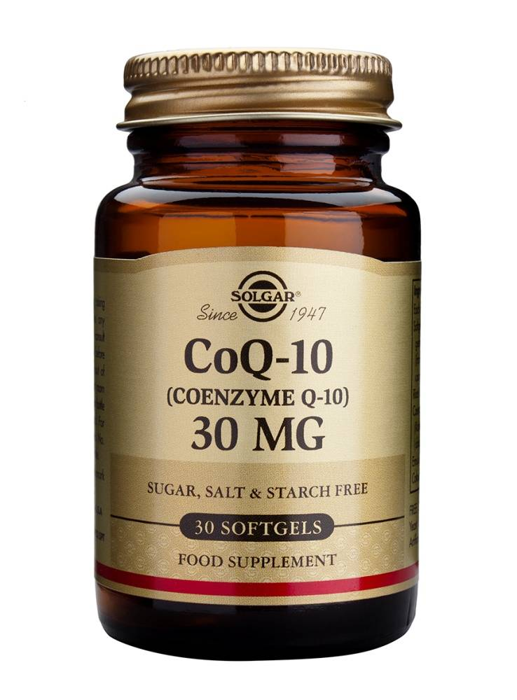 Co-Enzyme Q-10 30 mg 30 softgels-1