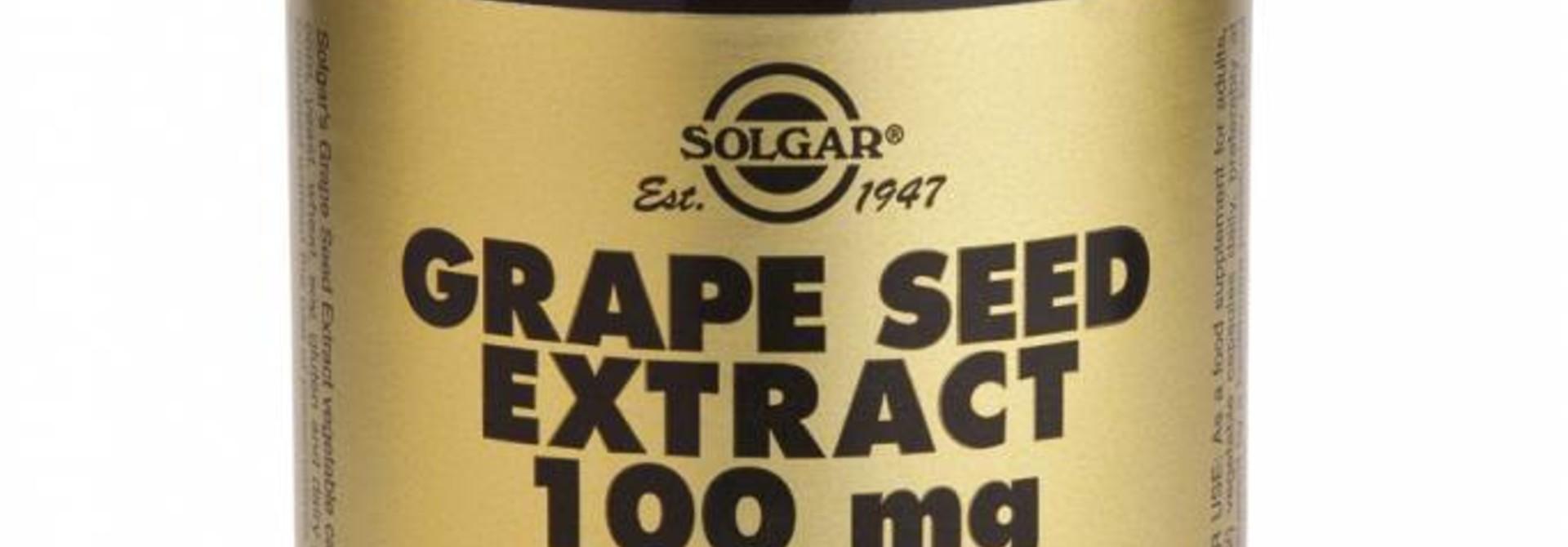Grape Seed Extract 100 mg 30 plantaardige capsules