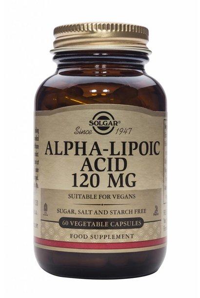 Alpha Lipoic Acid 120 mg 60 plantaardige capsules