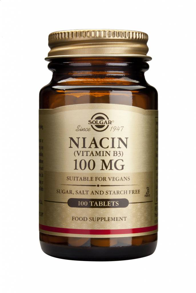 Niacin 100 mg 100 tabletten-1