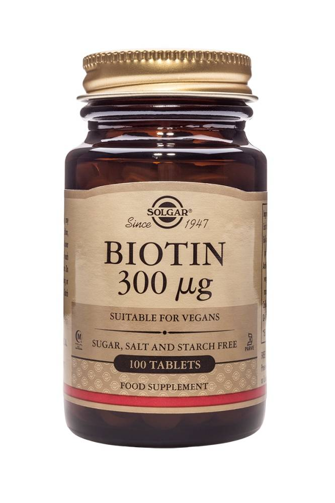 Biotin 300 µg 100 tabletten-1