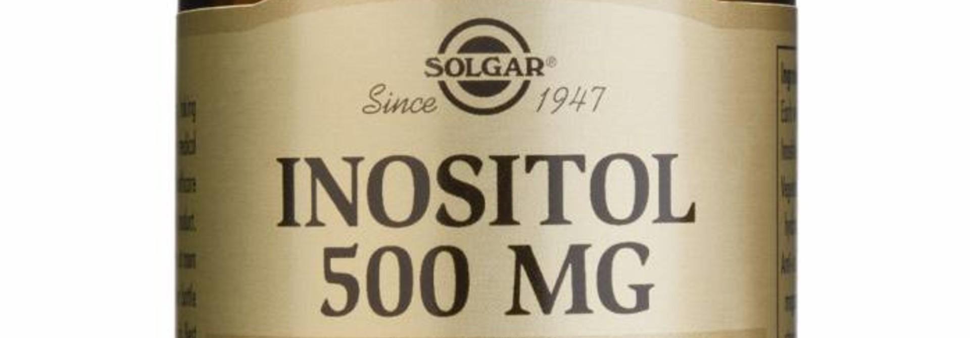 Inositol 500 mg 50 plantaardige capsules