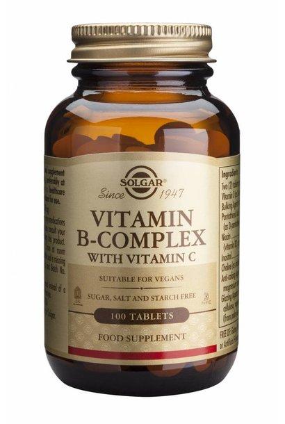 Vitamin B-complex with Vitamin C 100 tabletten
