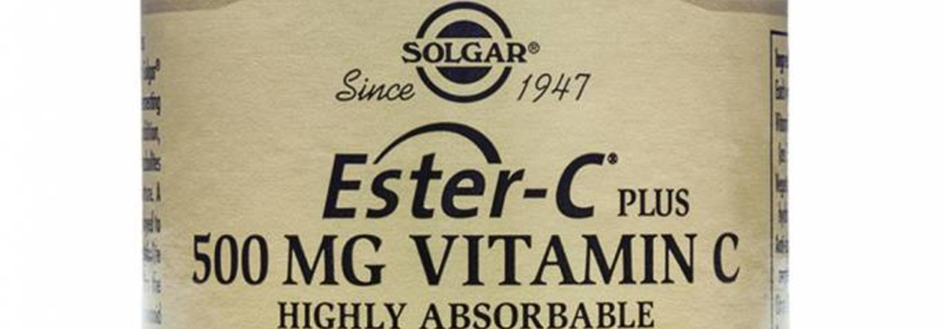Ester-C® Plus 500 mg 50 plantaardige capsules