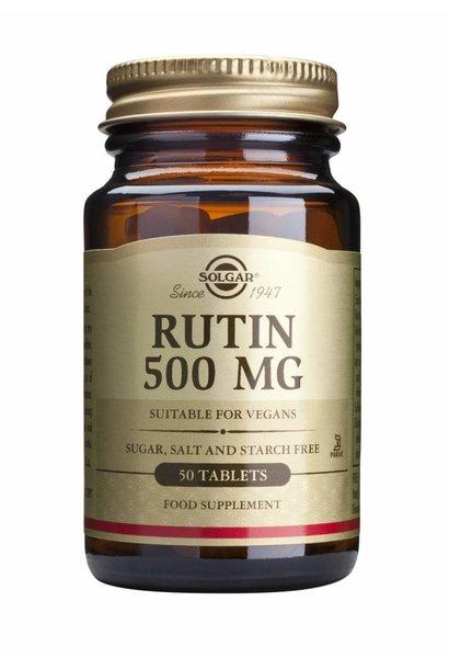 Rutin 500 mg 50 tabletten
