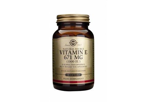 Solgar Vitamin E 671 mg/1000 IU Complex 100 softgels