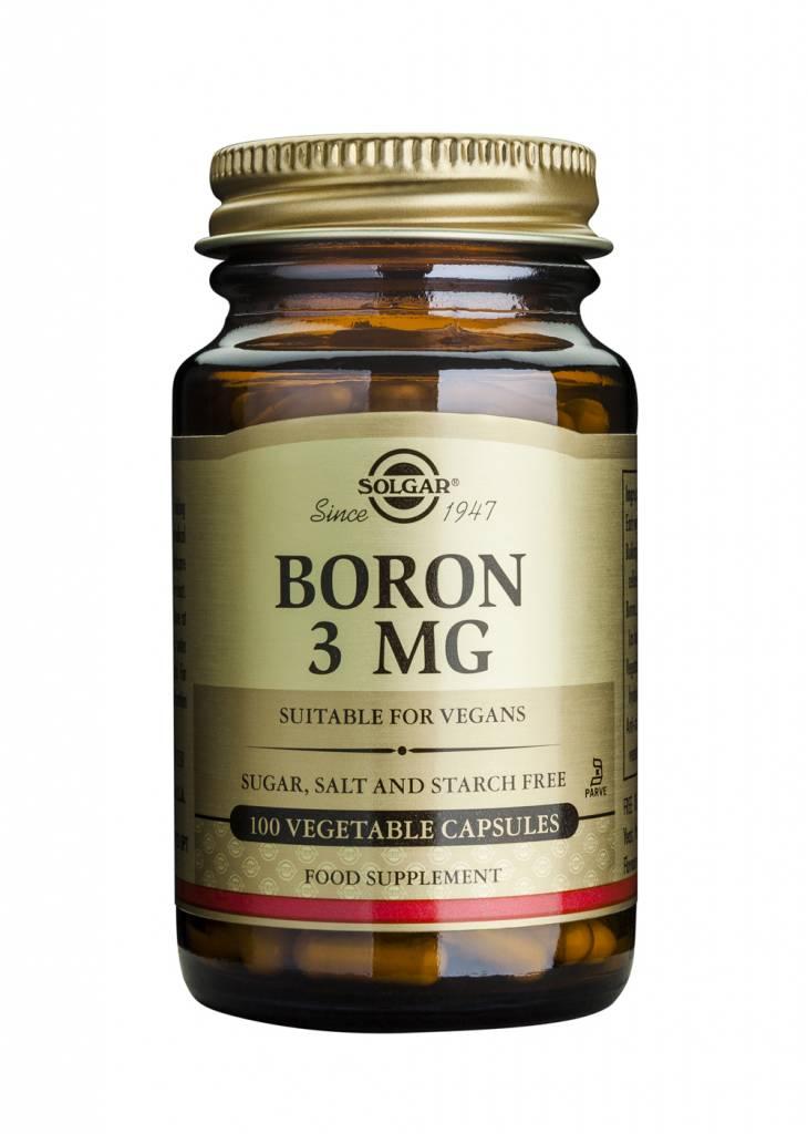 Boron 3 mg 100 plantaardige capsules-1