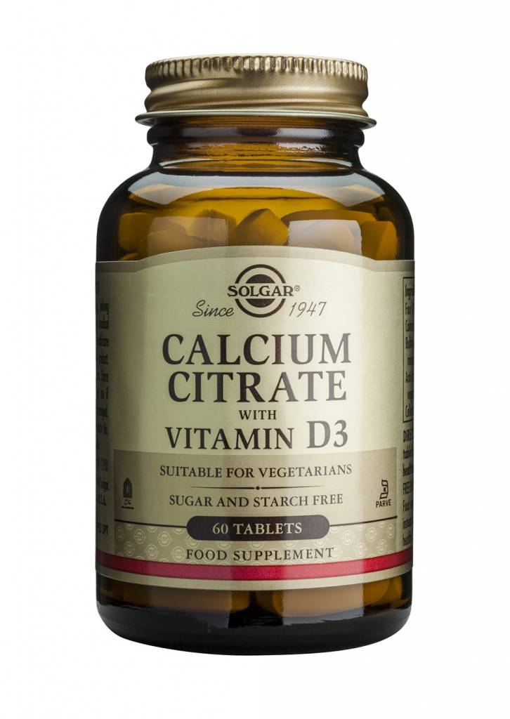 Calcium Citrate with Vitamin D-3 60 tabletten-1