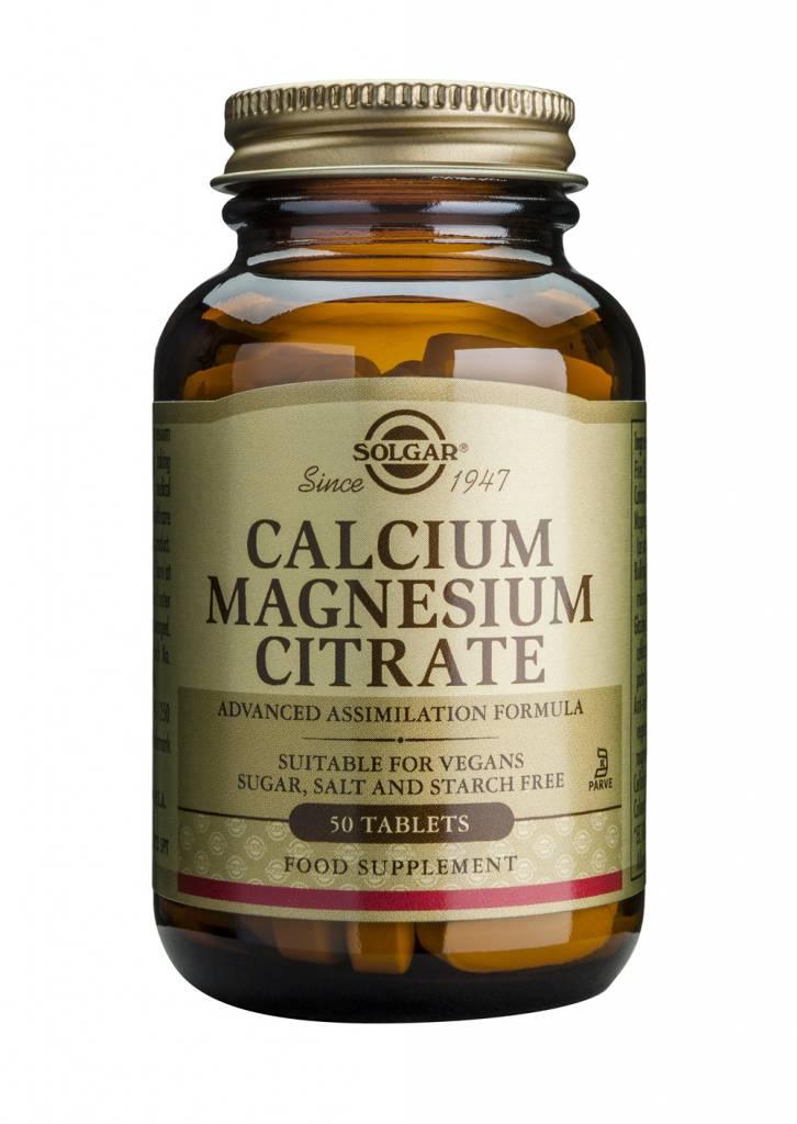 Calcium Magnesium Citrate 250 tabletten-1