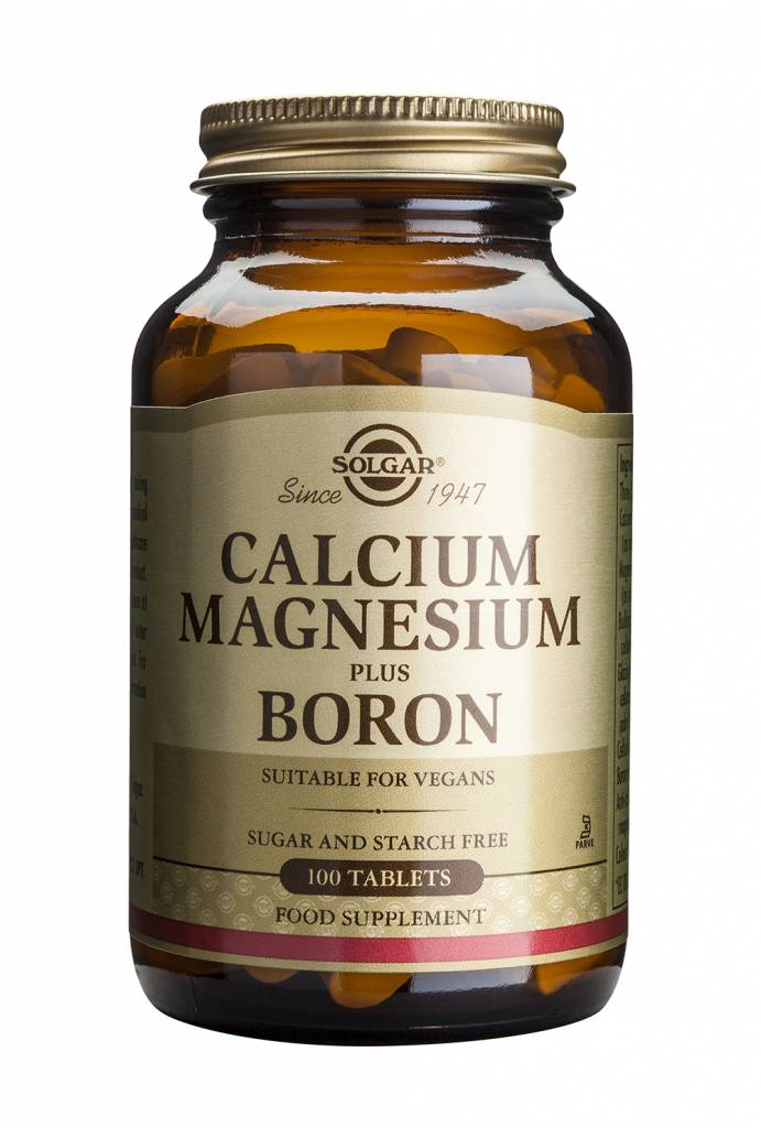 Calcium Magnesium plus Boron 100 tabletten-1