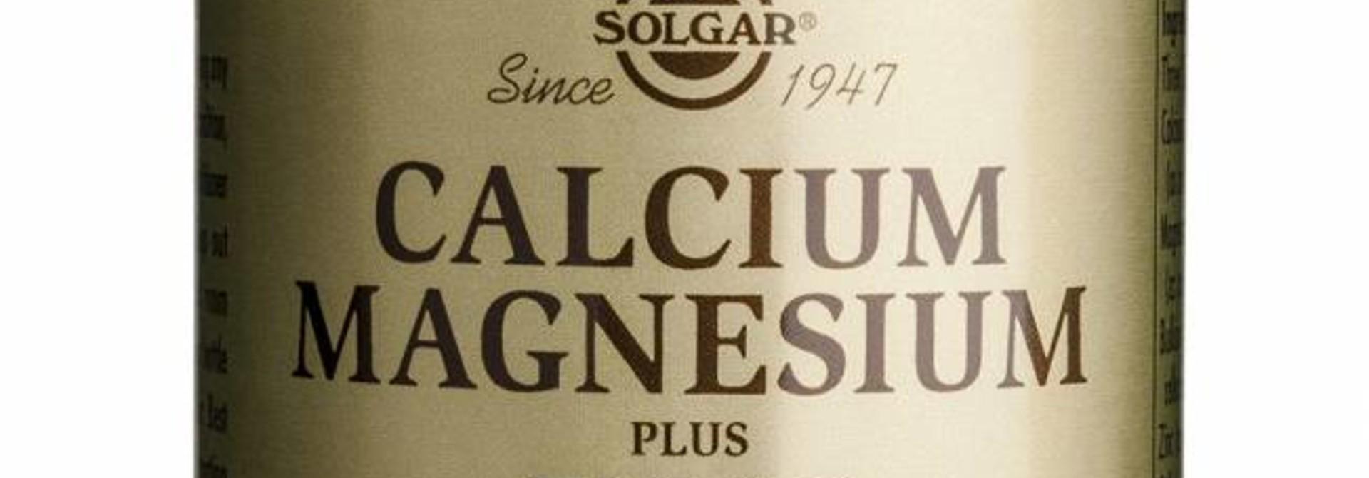 Calcium Magnesium plus Zinc 100 tabletten