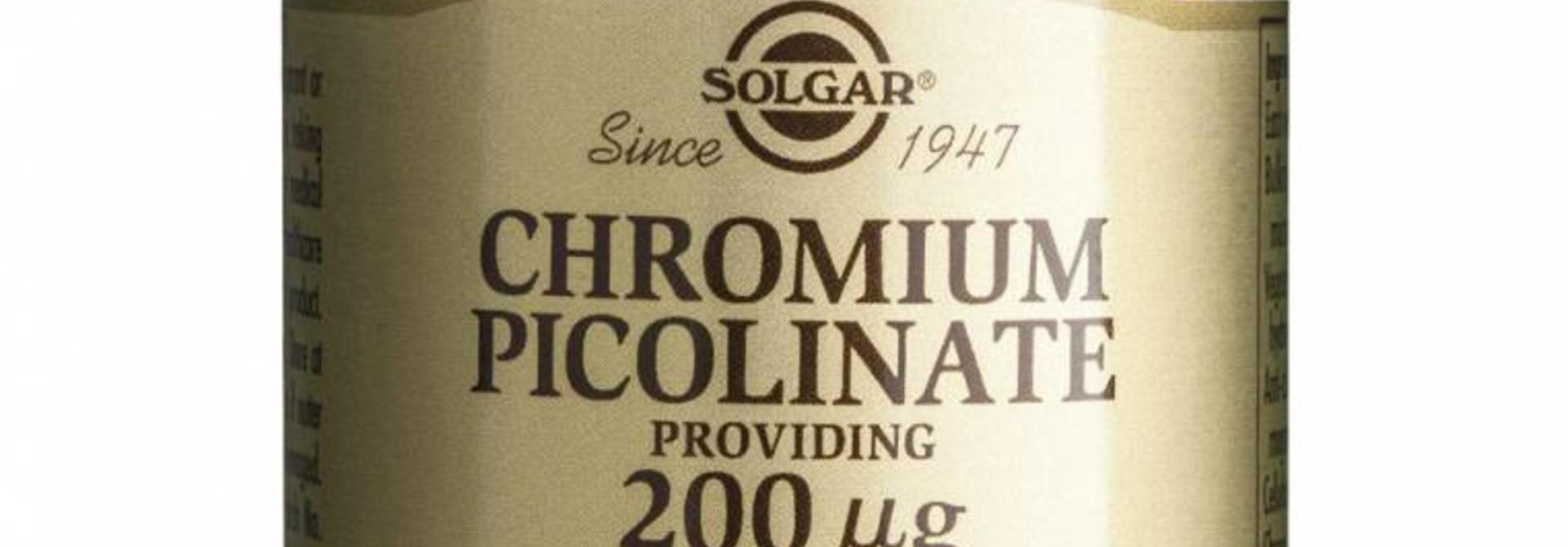 Chromium Picolinate 200 µg 90 plantaardige capsules