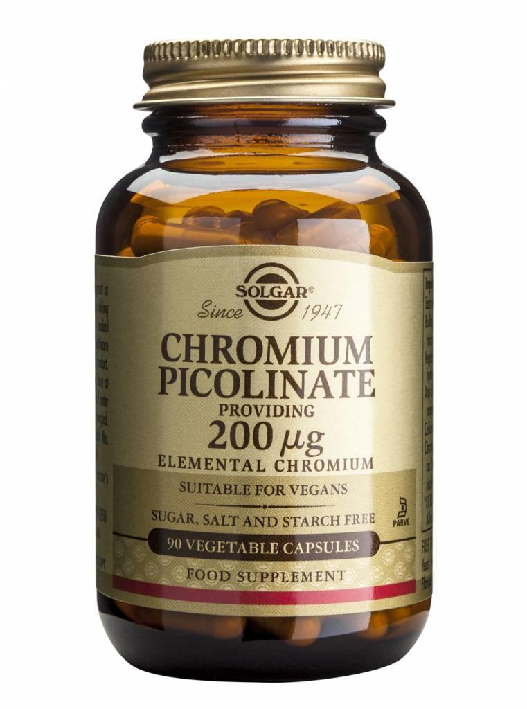 Chromium Picolinate 200 µg 90 plantaardige capsules-1