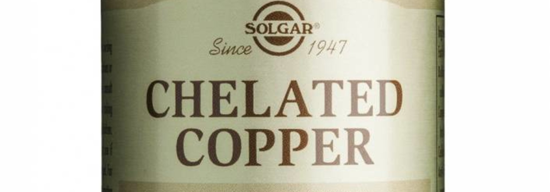 Chelated Copper 100 tabletten