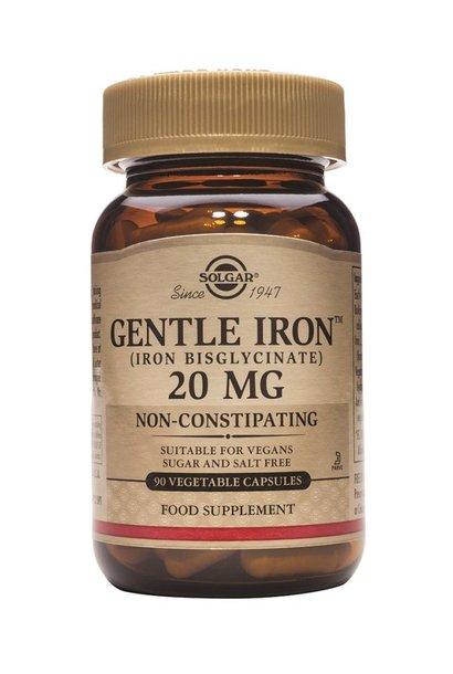 Gentle Iron 20 mg 90 plantaardige capsules