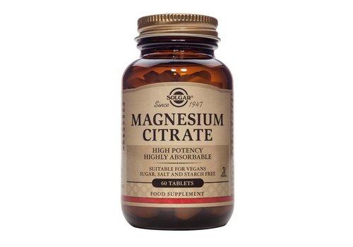 Solgar Magnesium Citrate 60 tabletten