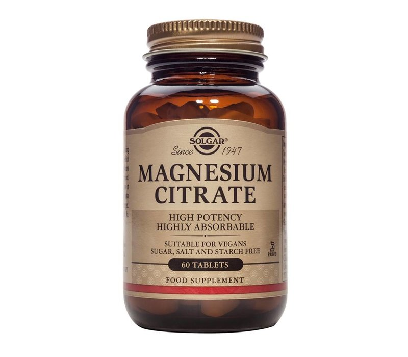 Magnesium Citrate 60 tabletten