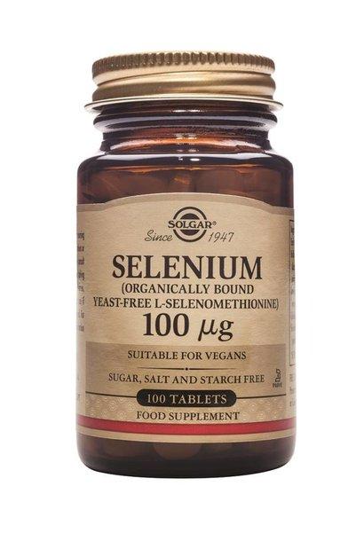 Selenium 100 µg 100 tabletten