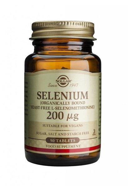 Selenium 200 µg 50 tabletten