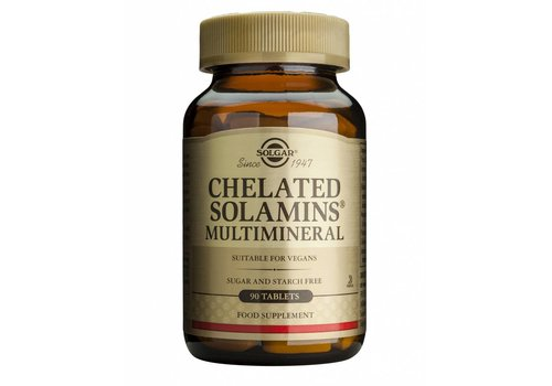 Solgar Chelated Solamins® Multimineral 90 tabletten